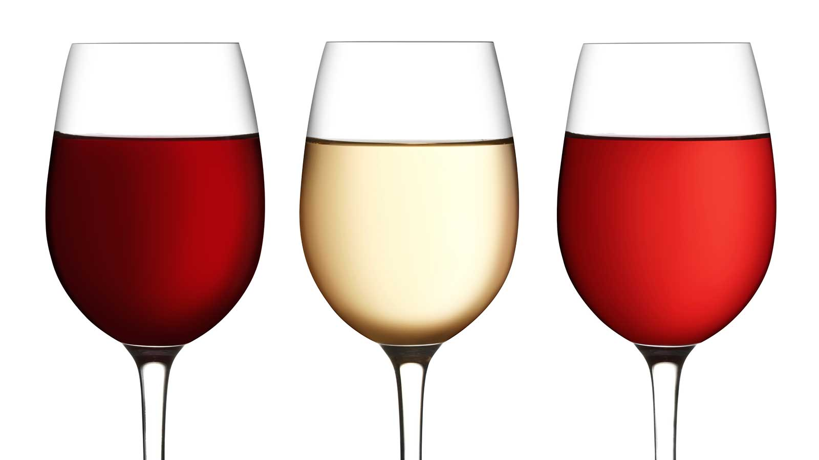 Taste red, pink and white wine